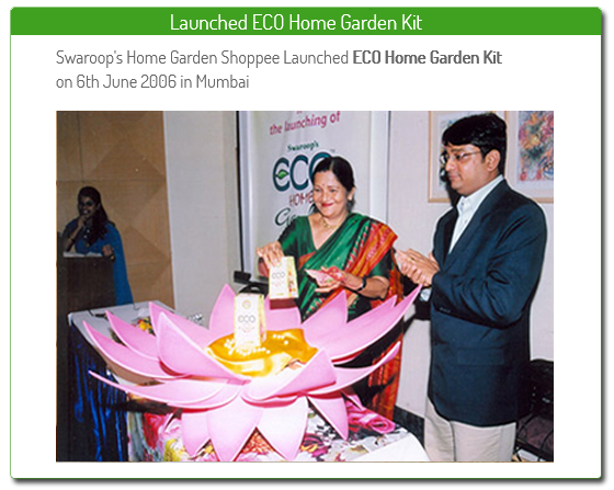launched eco home garden kit
