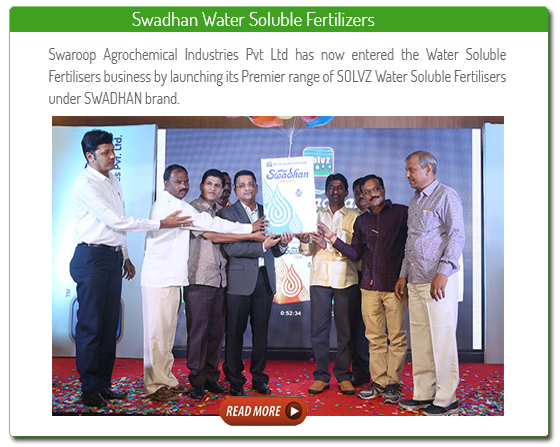 swadhan water soluble fertilizers