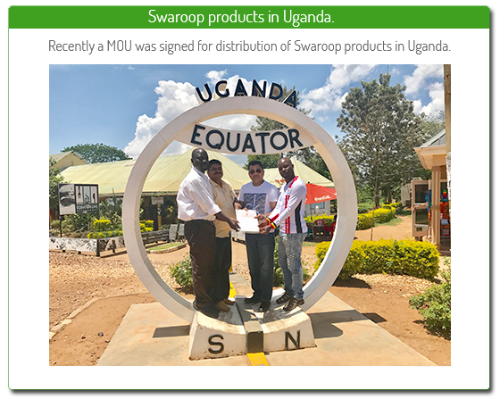 swaroop products in uganda